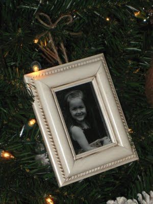 Whitneys Photo Frame Ornament Dollar Stores Ornament And Store