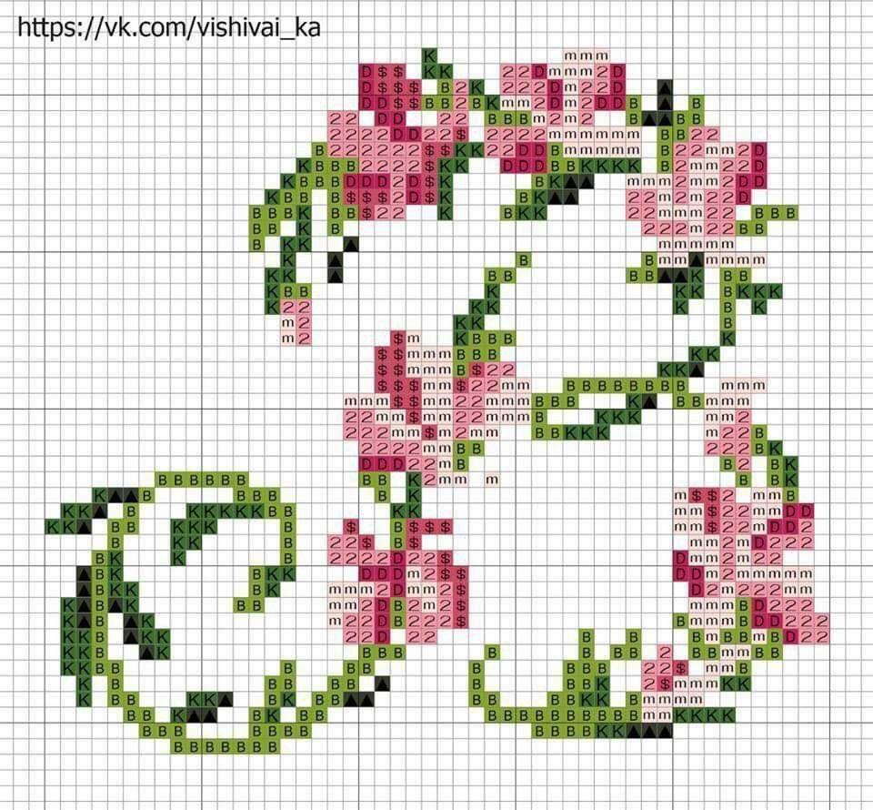 Untitled Cross Stitch Flowers Cross Stitch Rose Cross Stitch Patterns Flowers