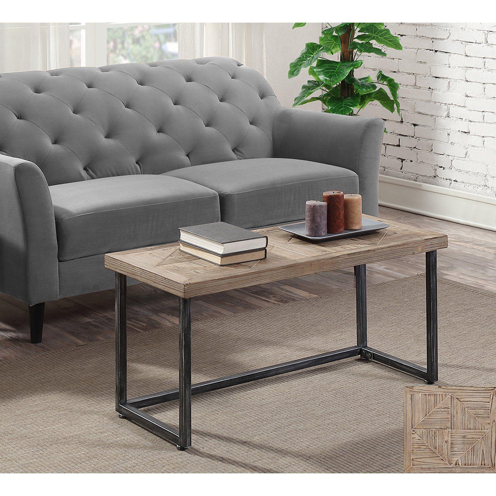 Convenience concepts laredo parquet coffee table coffee