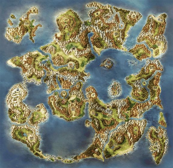 Dragon Quest 6 Map Of Real World Dragon Quest Map Dragon