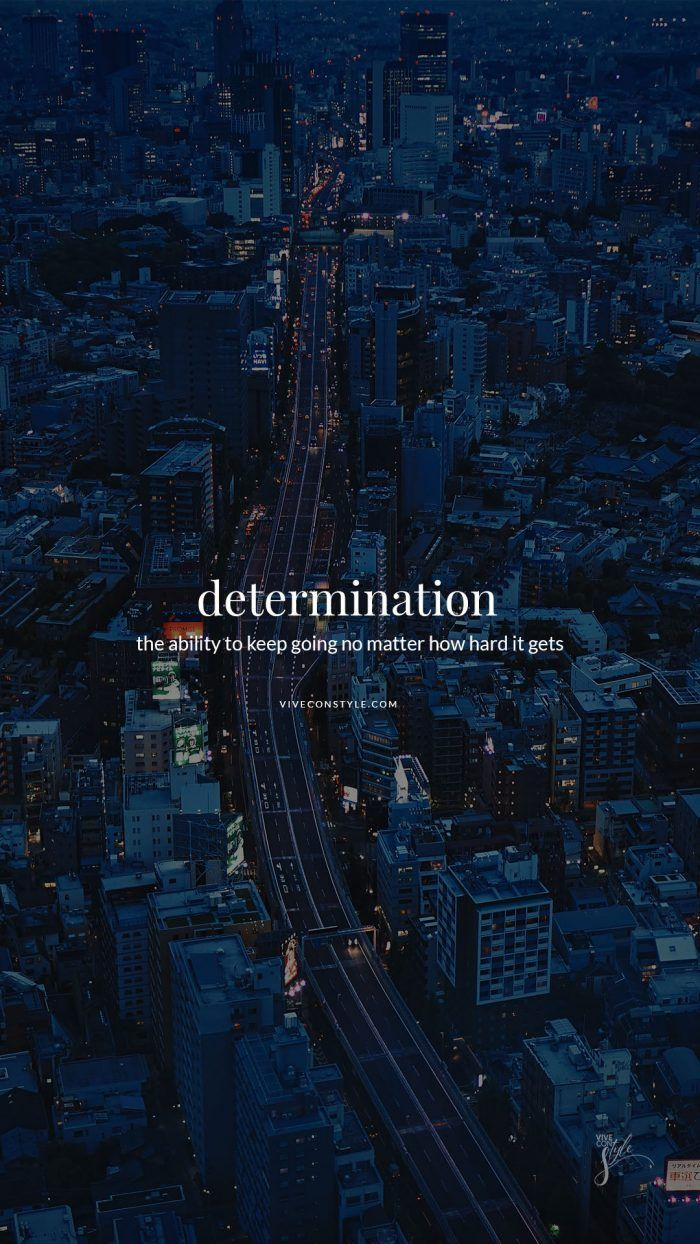 Determination quote mobile wallpaper
