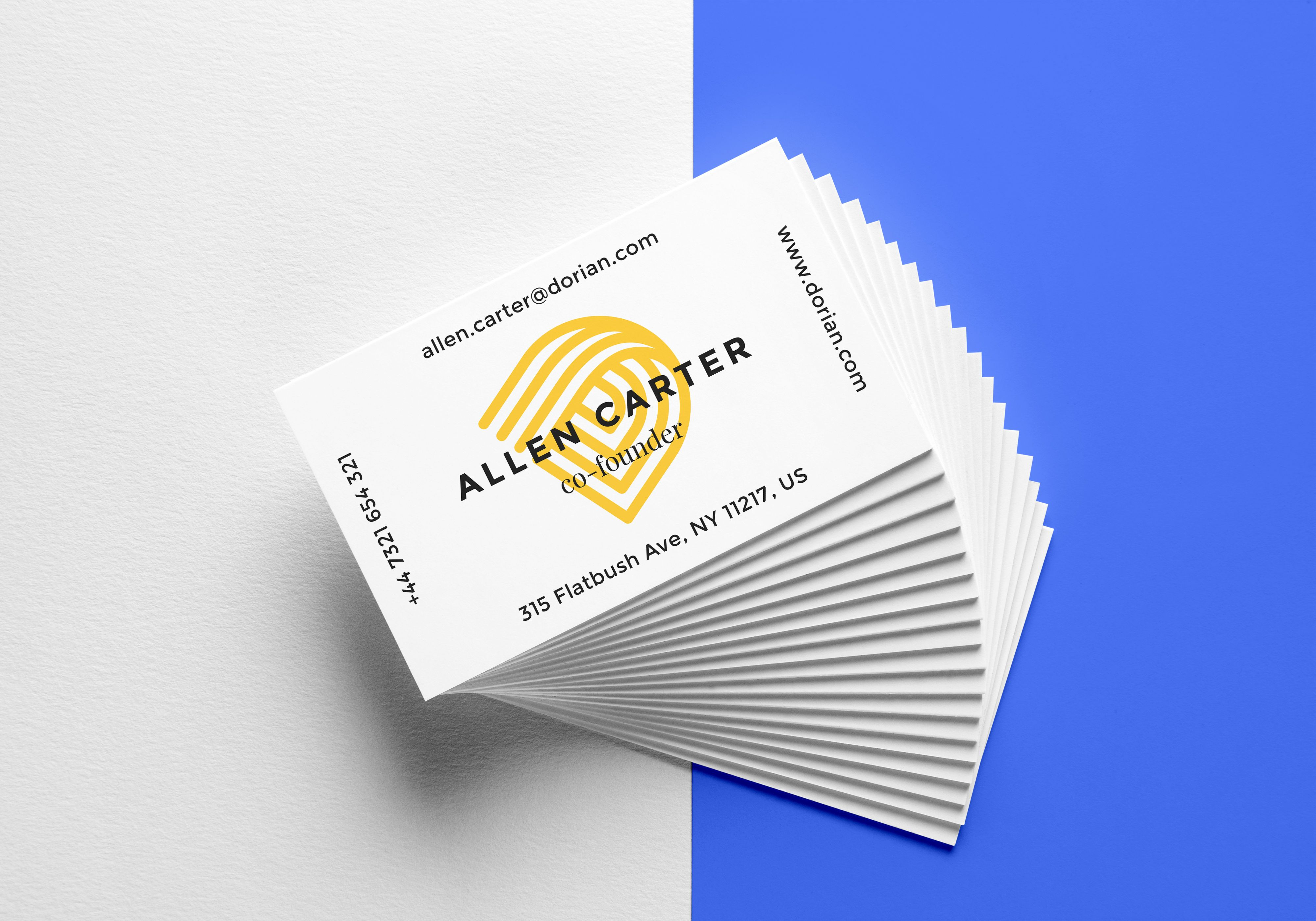 behance realistic business cards behance realistic business cards mockup free download reheart Image collections