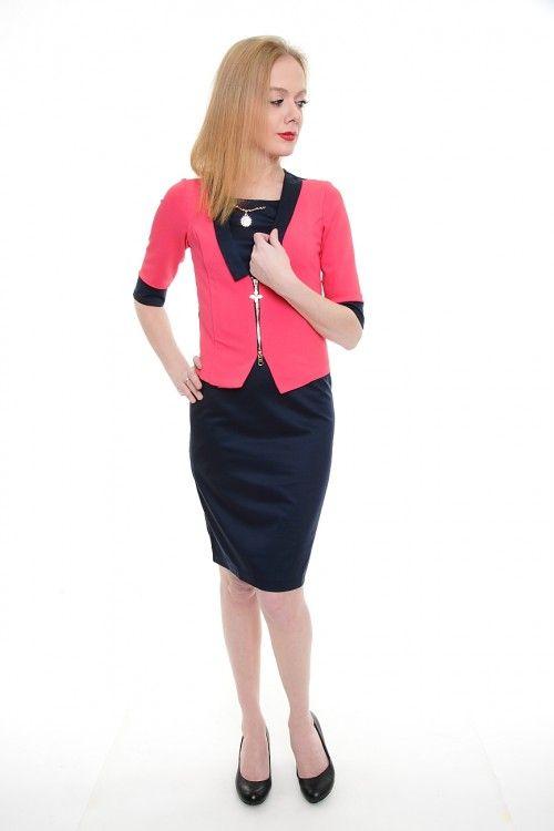 Платье А1820 Размеры: 42,44,46,48,50 Цена: 743 руб.  http://optom24.ru/plate-a1820/