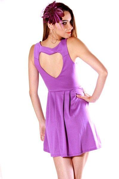 #clubwear21.com #dress #fashion be mine backless purple retro a line cocktail dress-$35.00