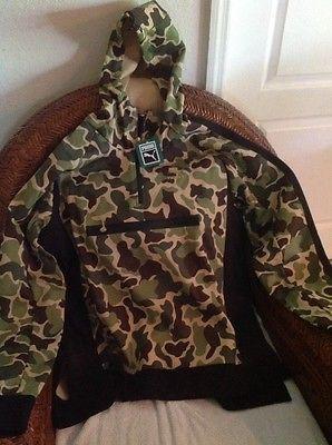 92d8e0f914c2d CAMO EVO Savannah puma pullover jacket hoody New With Tags size XL mens