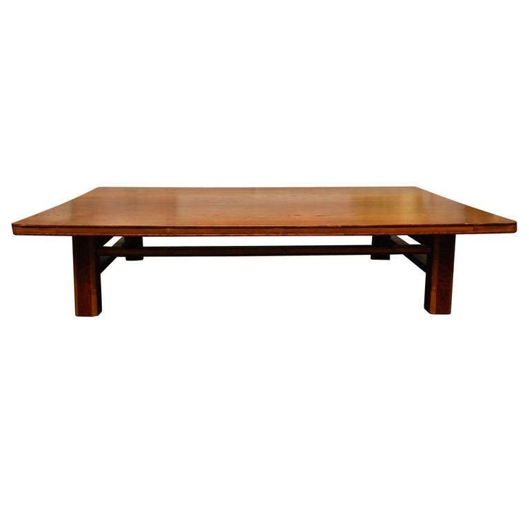 japanese keyaki wood table  from a unique collection of