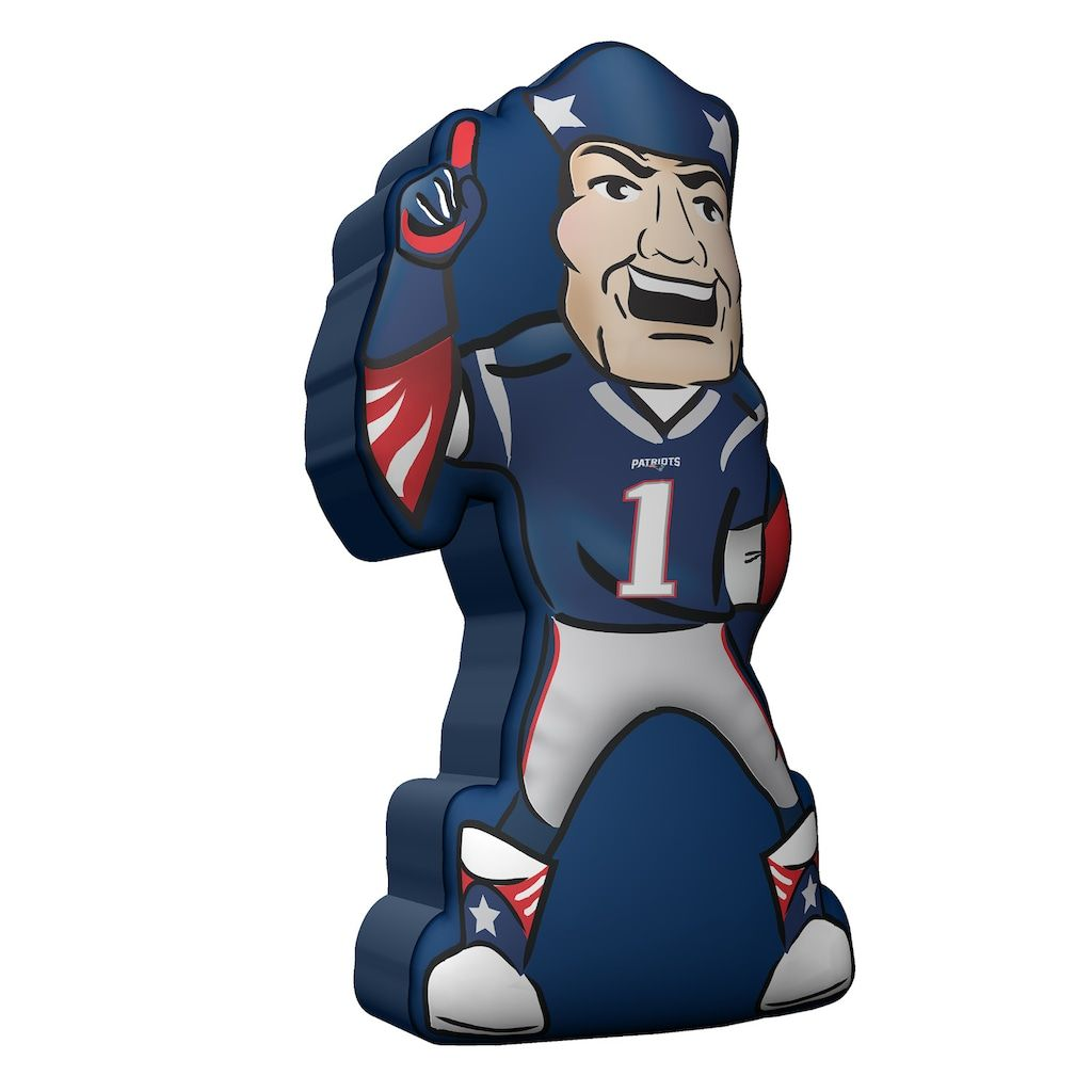 New England Patriots Plushlete Mascot Novelty Pillow Nfl New England Patriots New England Patriots England Patriots