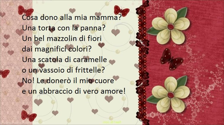 Frasi Compleanno Mamma Poeti.Una Poesia Piena D Amore Dedicata Alla Propria Mamma Per