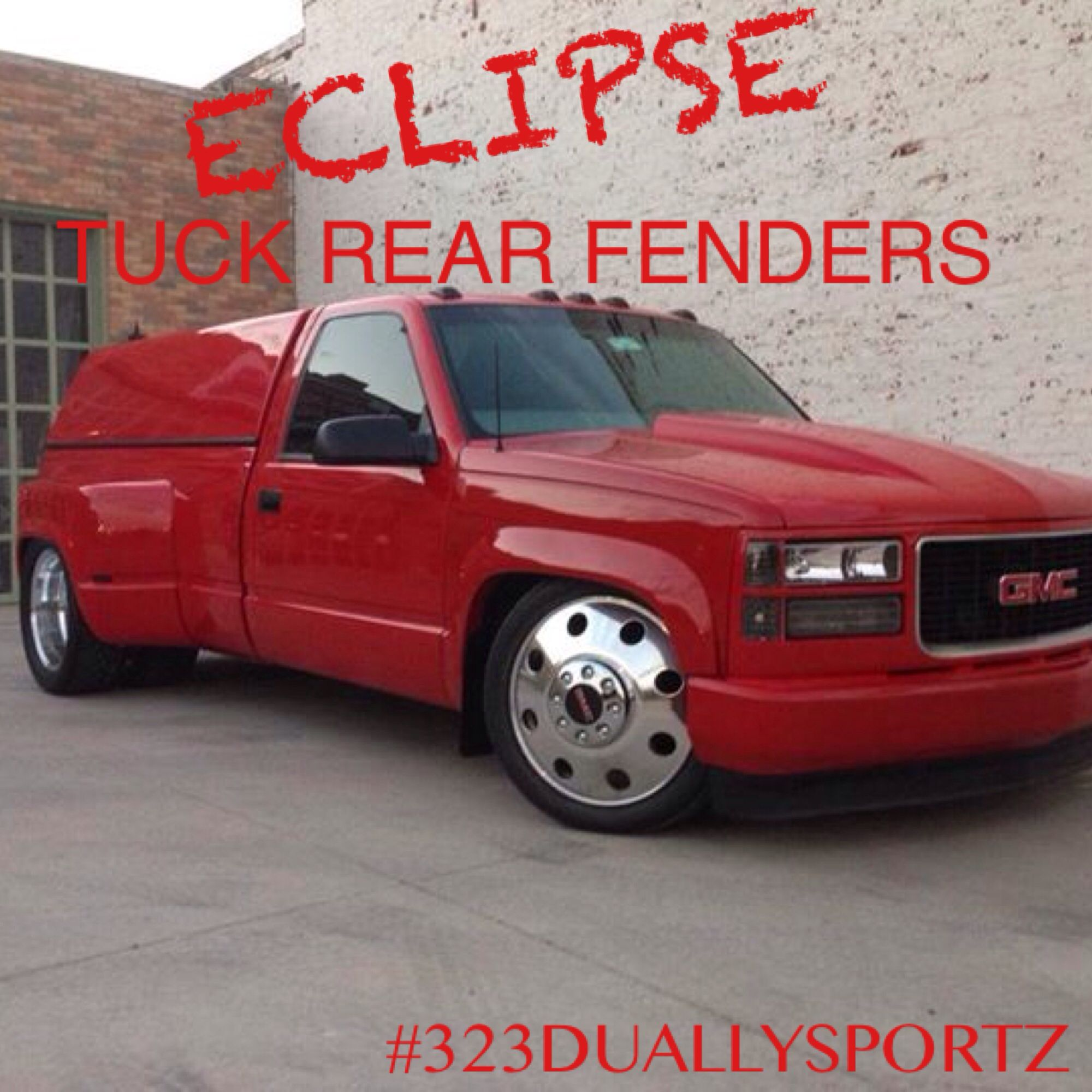 Eclipse Tuck Rear Fenders Sold By 323 Duallysportz Order Yours Today 323 382 5597 Things To Sell Dually Trucks Fender
