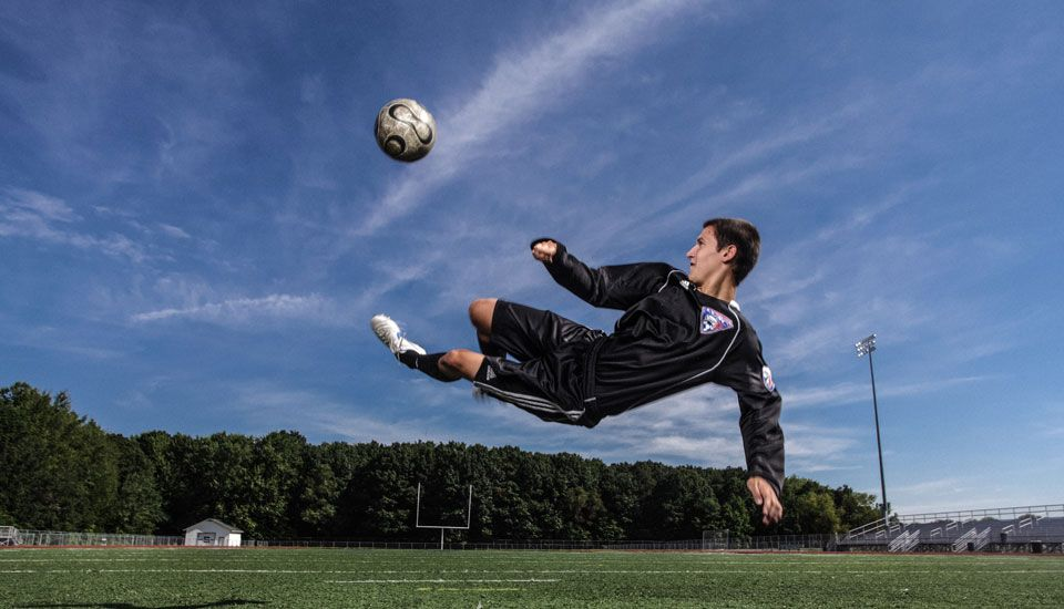 Senior Photo Idea Soccer