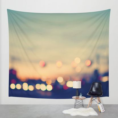 We're only young once Wall Tapestry by Laura Ruth | Society6
