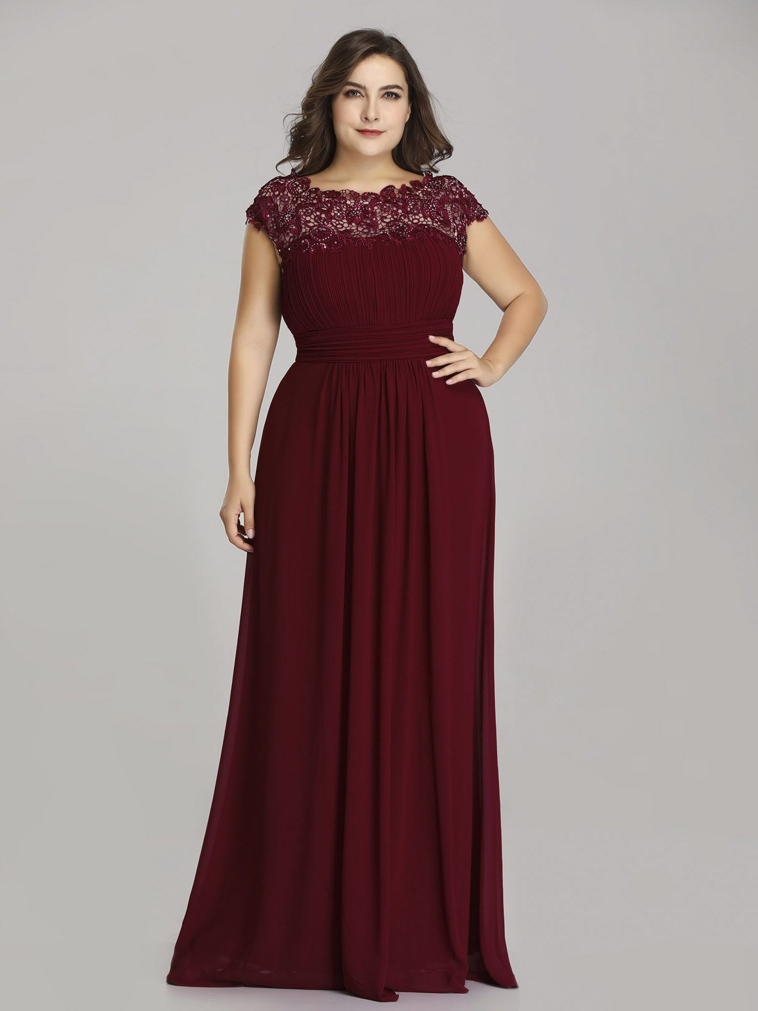 bd25291c7b Ever-Pretty Womens Elegant Lacey Winter Formal Long Evening Holiday Party  Maxi Dresses for Women 9993 Green US 16#Formal, #Winter, #Evening