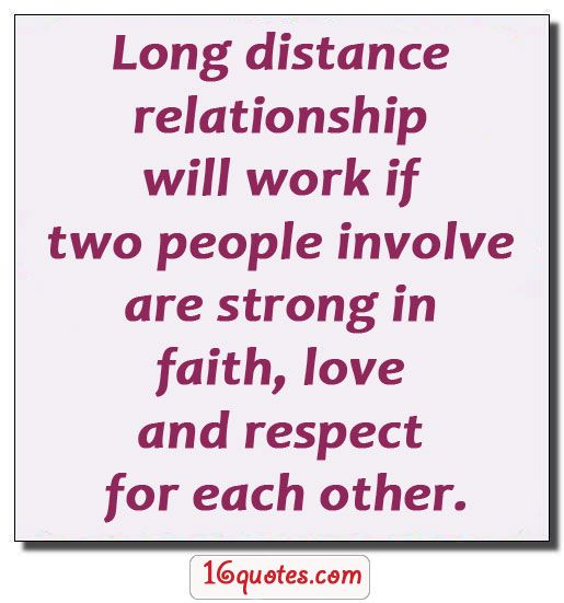 long distance relationship meaning