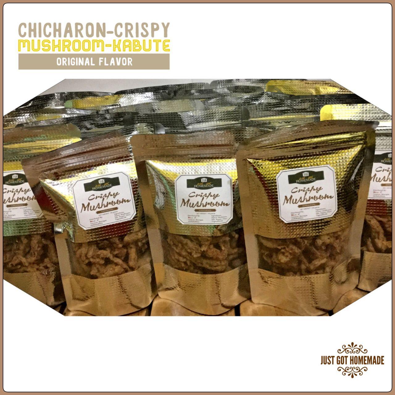 Jgh Crispy Mushroom Chicharon Kabute Just Got Homemade