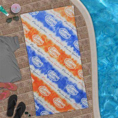 Florida Gators Candy Cane Beach Towel