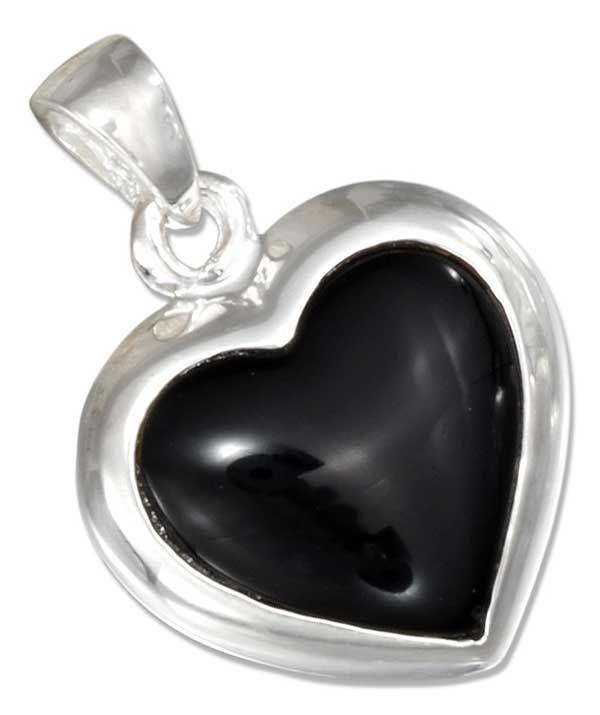 nice reversible heart pendant