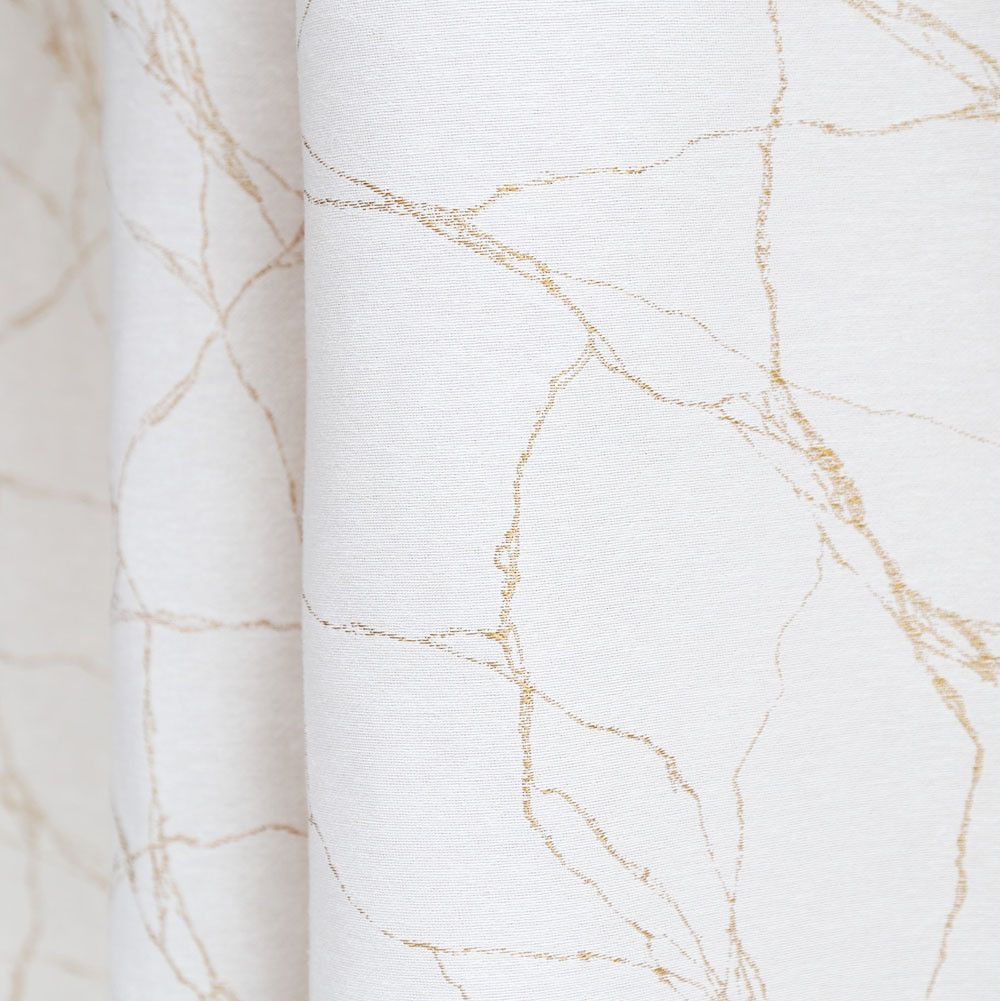 A Gold And White Marble Fabric With Delicate Lines Perfect For Upholstery Throw Pillows Cushions Roman Marbling Fabric Gold And White Curtains Gold Curtains
