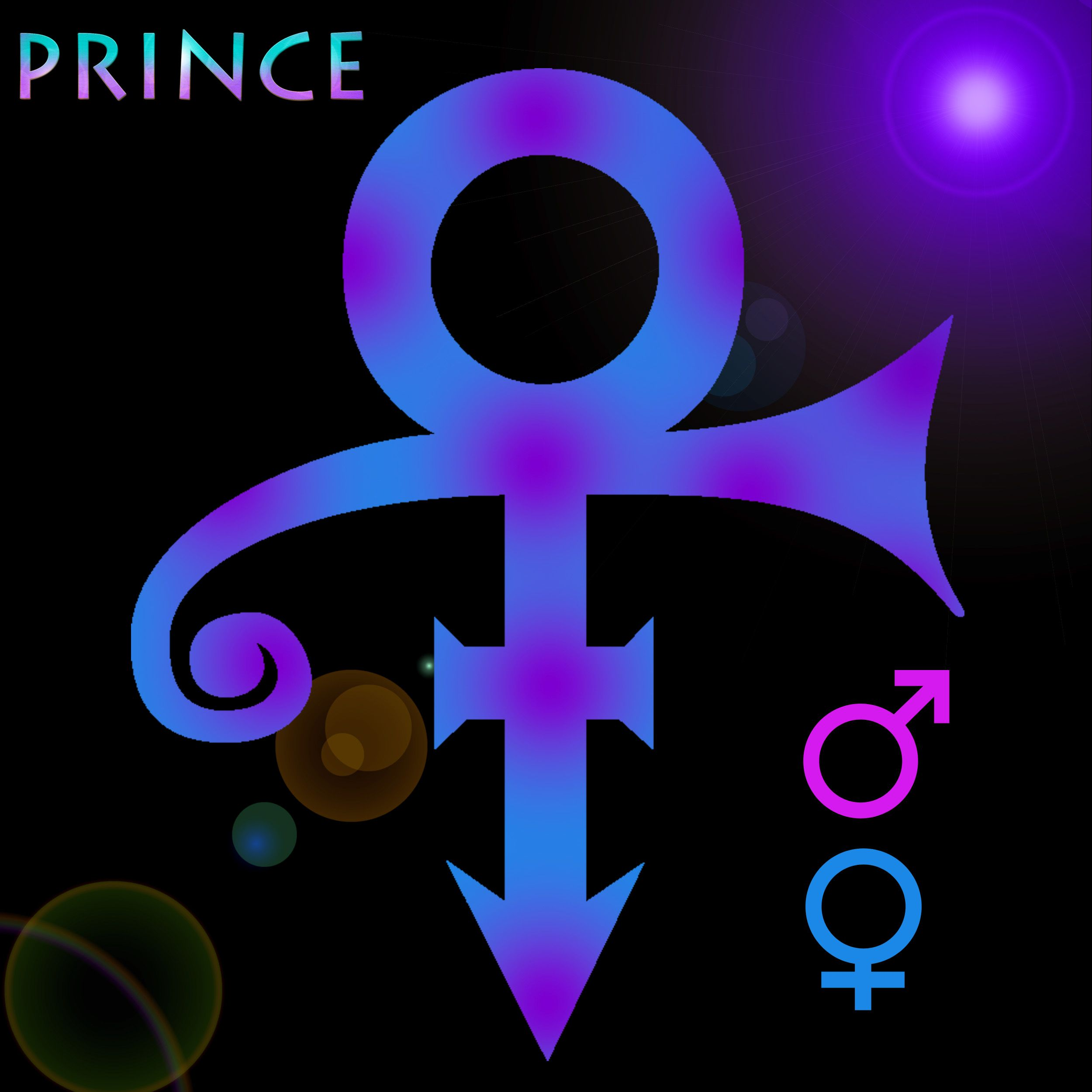Prince the famous ancient egyptian style symbol of male and female prince the famous ancient egyptian style symbol of buycottarizona