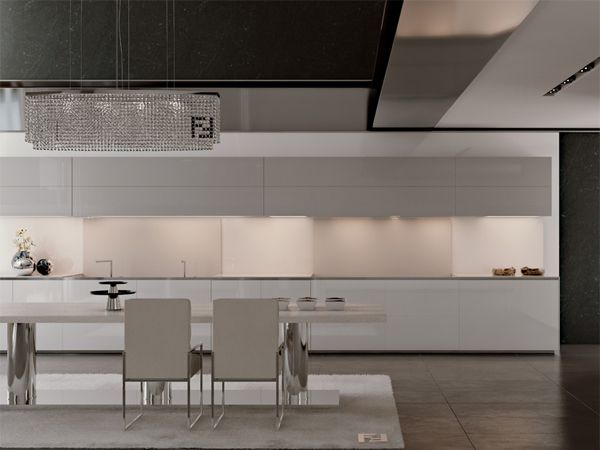 Fendi Arredamento ~ Fendi casa s customizable kitchen cabinetry styles light