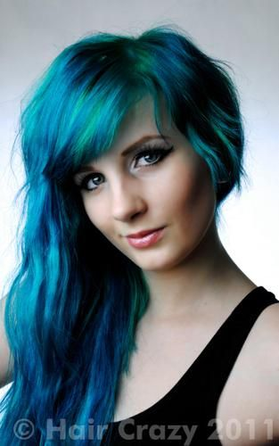 Buy Peacock Blue Crazy Color Hair Dye Haircrazy Crazy Colour