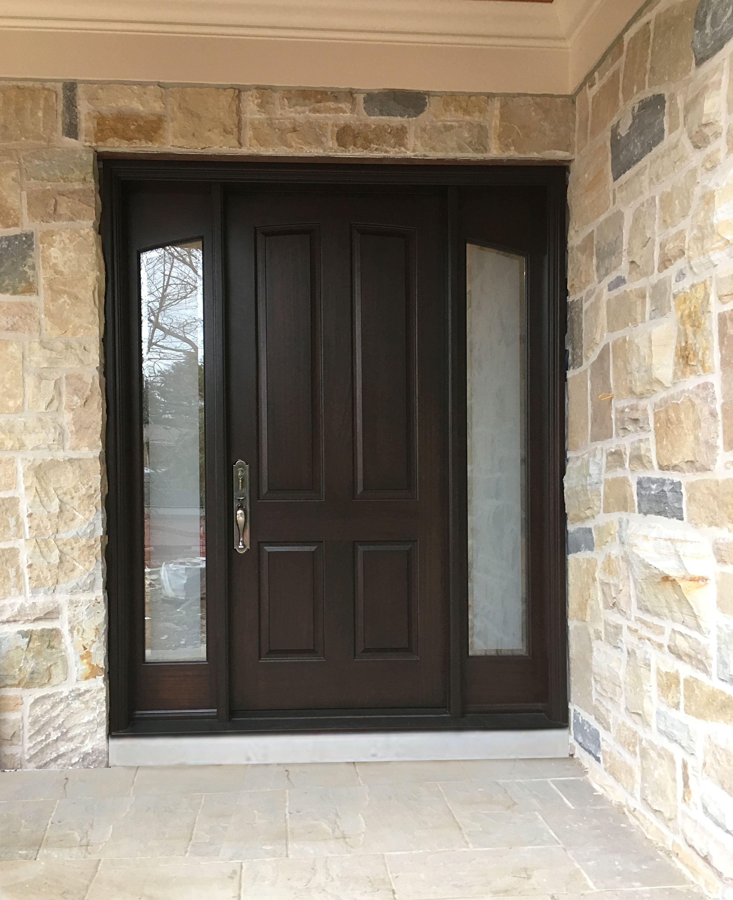 Amberwood Doors Inc: Beautiful #Amberwood Custom #mahogany #door With 2