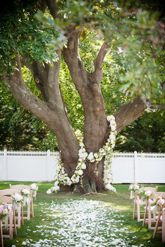 Top 35 outdoor backyard garden wedding ideas junglespirit Choice Image