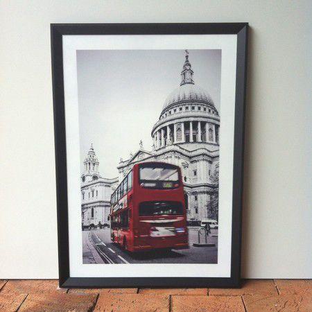Quadro Cidade London Bus 1