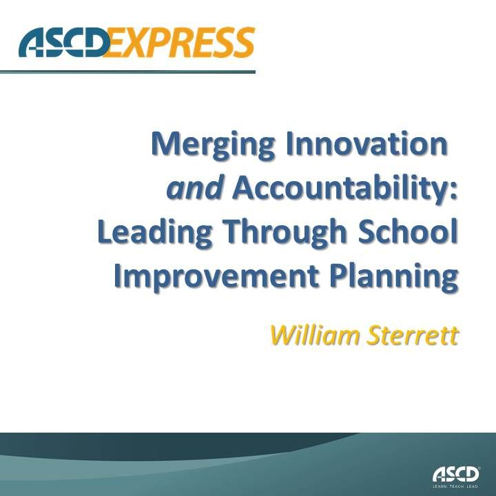 Author Of The ASCD Book Insights Into Action: Successful