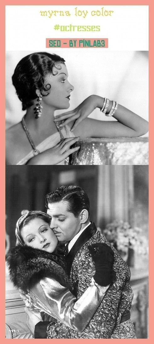 Myrna Loy Dress Actresses - #actresses #dress #myrna - #AliLarter