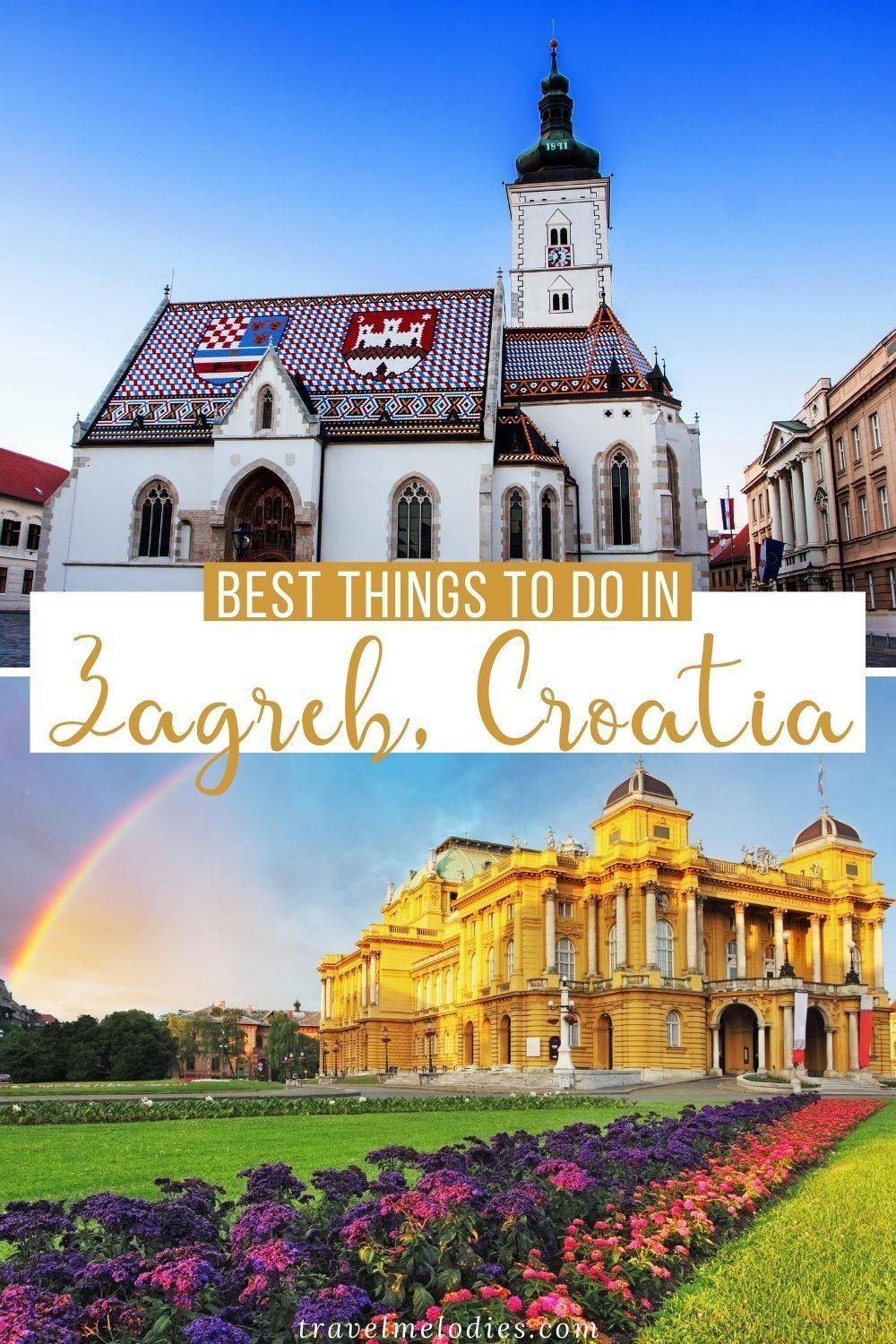 Zagreb A Traveler S Guide To Croatia S Capital City In 2020 Europe Trip Itinerary Balkans Travel Croatia Travel