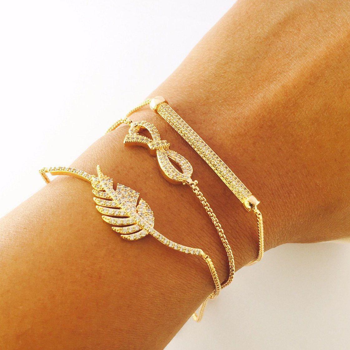 Infinityloveco bow bracelet ❤✨🛍 Keep calm and put the beautiful bracelet on🎀🎉