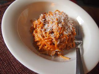 kermatomaattispaghetti
