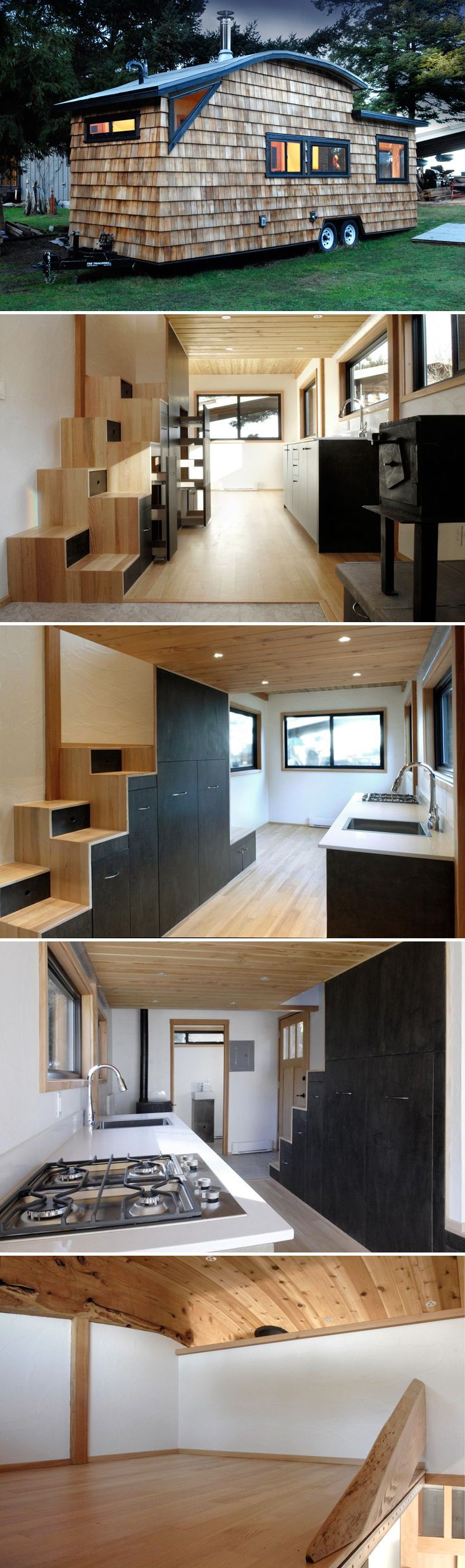 Curved micro home by structural spaces also best tiny house design images in rh pinterest