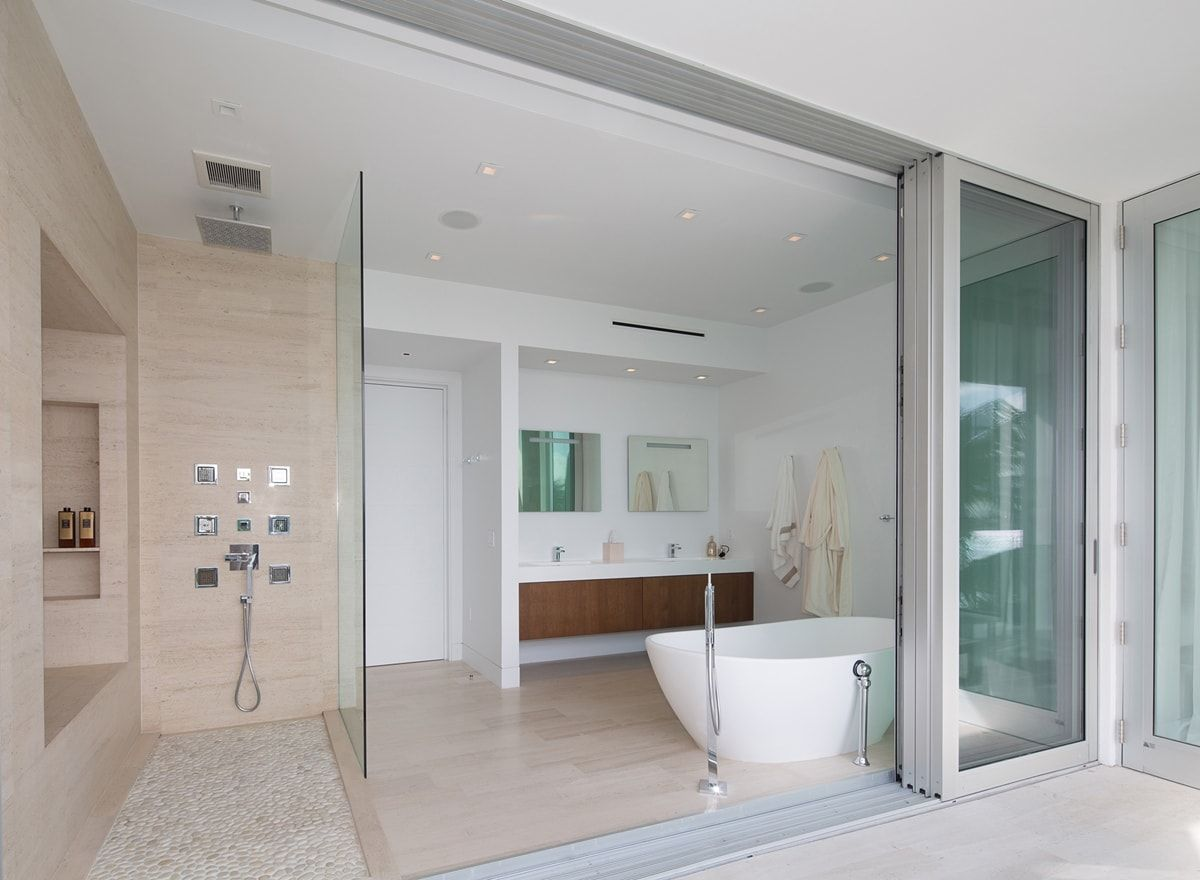 bathroom in an amazing home by STRANG House Goals Pinterest