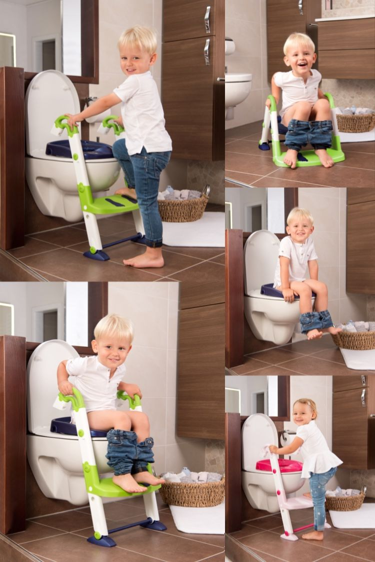 Toilettentrainer 3 In 1 Kidskit Rotho Babydesign In 2020 Baby Design Kinder Baby