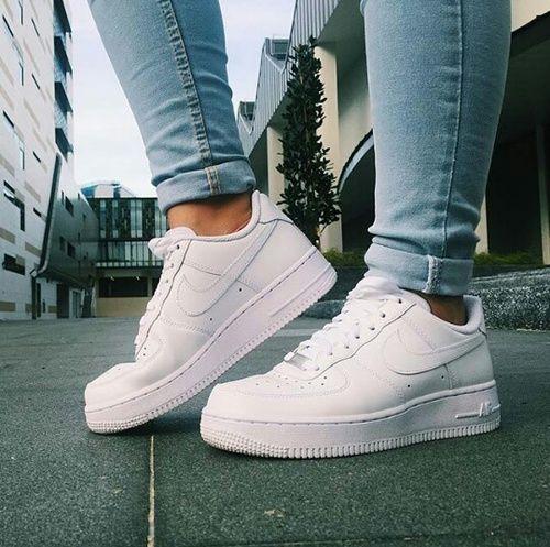 zapatillas nike mujer blancas casual