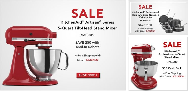 A guide to the best 2013 black friday deals kitchenaid