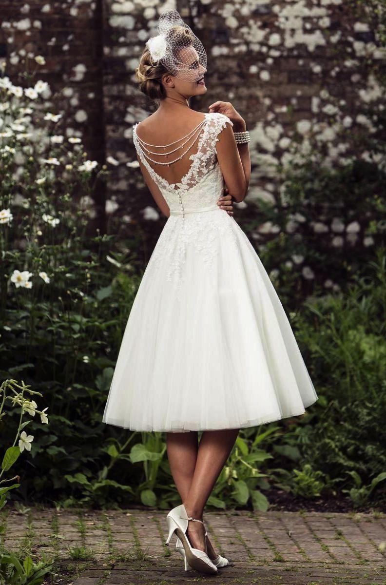 50s Style Wedding Dress Long Vintage Patterns 1940s: 50s Style Wedding Dresses Pattern At Reisefeber.org