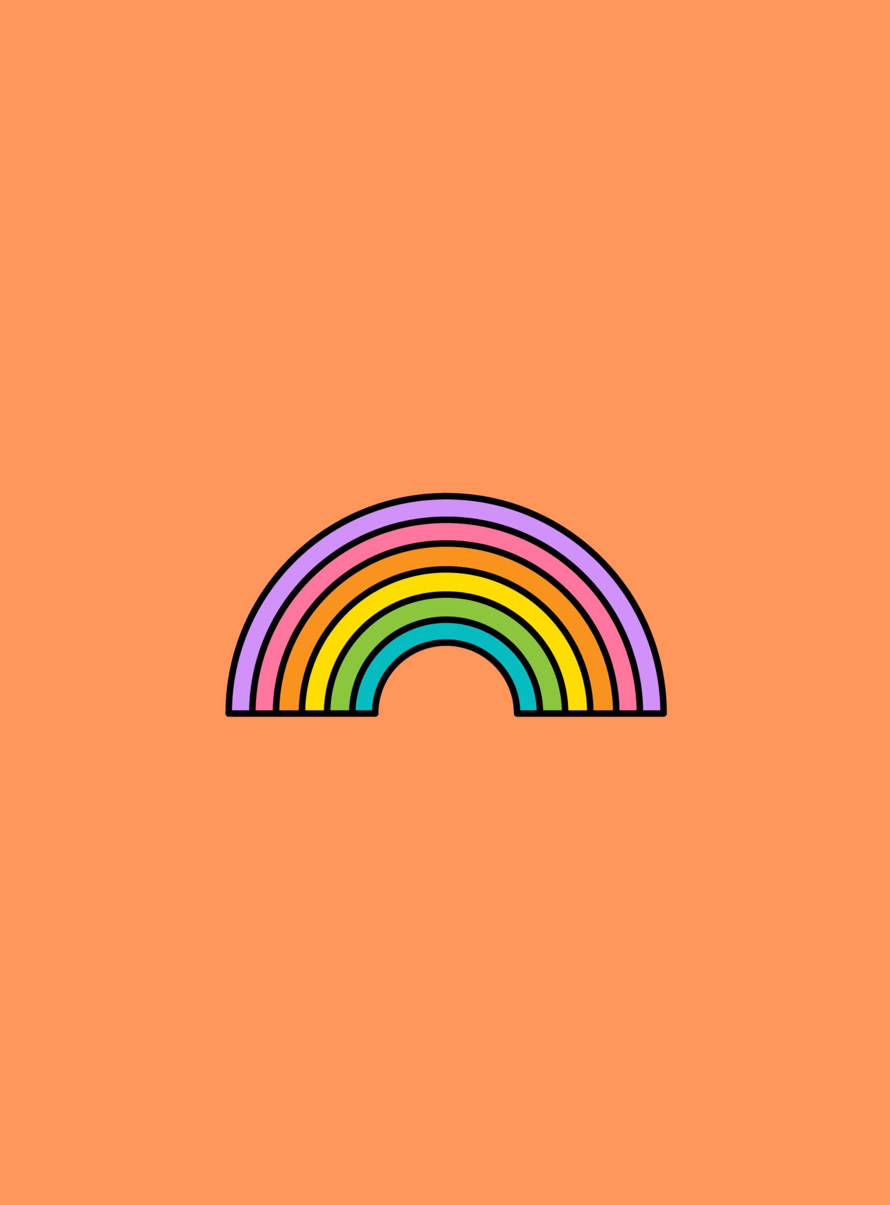 Cute Rainbow Wallpaper Rainbow Wallpaper Rainbow Wallpaper Iphone Ipod Wallpaper