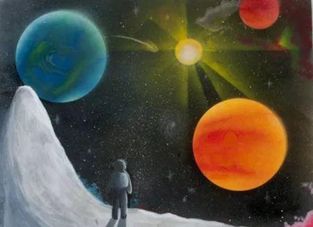 рисунки на тему космос: 23 тыс изображений найдено в ...