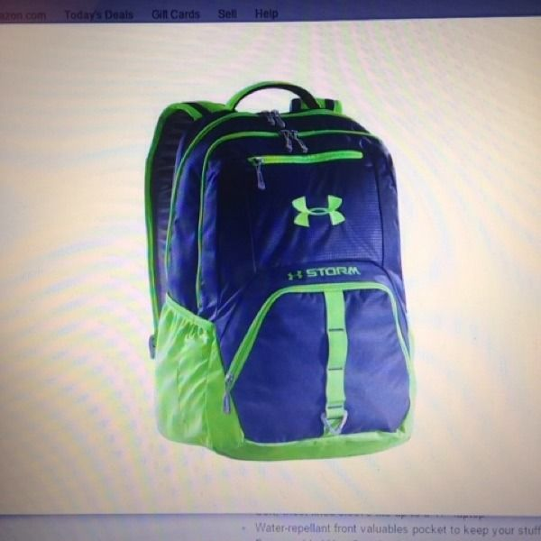 Under Armour Exeter Backpack Color Academy One Size Free Shipping #shopsmall BUY NOW $74.95