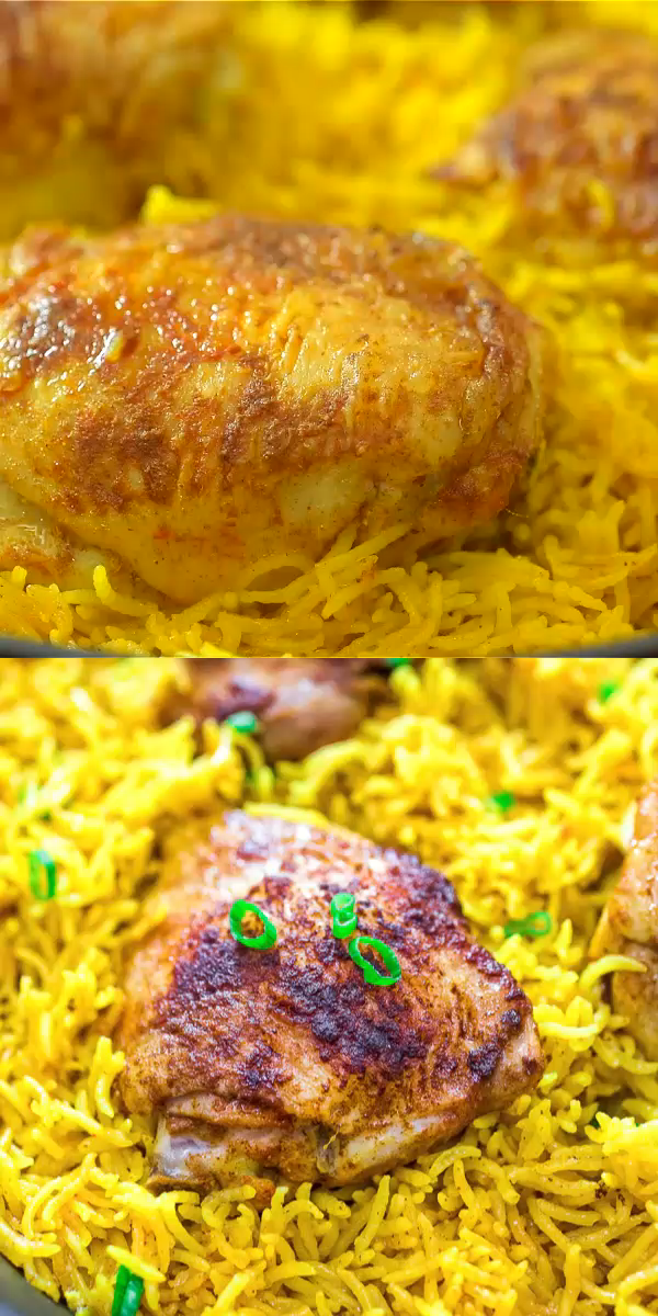 Chicken and Yellow Rice images