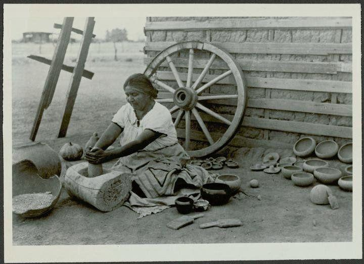 Ida Redbird - Maricopa - 1940 .