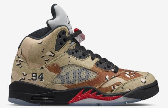 super popular 100% quality lace up in Air Jordan 5