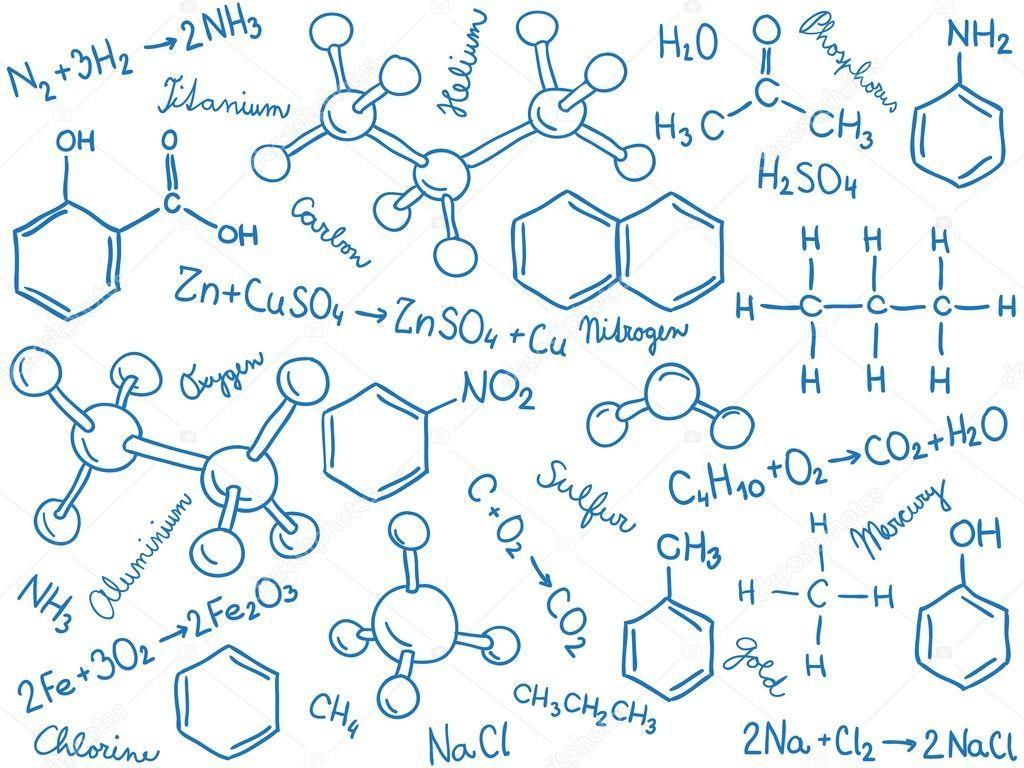 Libretas De Dibujo De Un Artista Freelance: Image Result For Formulas Quimicas Dibujos