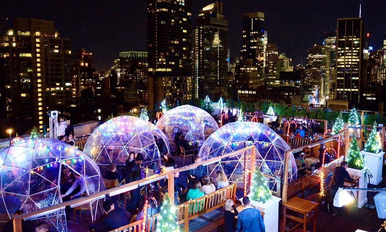 Are pop-up igloos the new Christmas markets? | Pinterest
