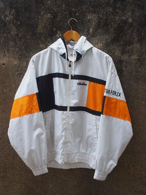 8d3a1e7670382 ELLESSE Women Jacket Large Vintage 90's von REPEATFASHIONSTORE ...