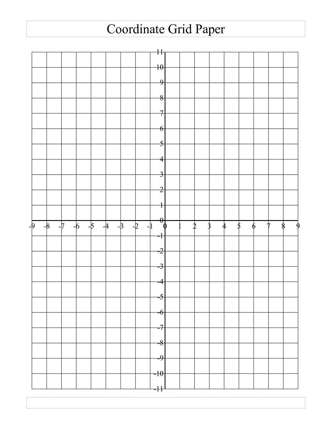 Graph Paper Worksheets To Print  Activity Shelter  Math