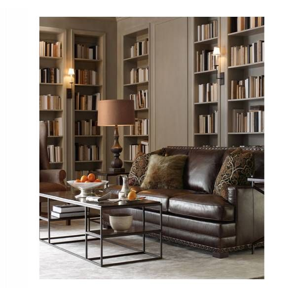 Stupendous Cantor Leather Sofa Bernhardt Star Furniture Houston Interior Design Ideas Clesiryabchikinfo