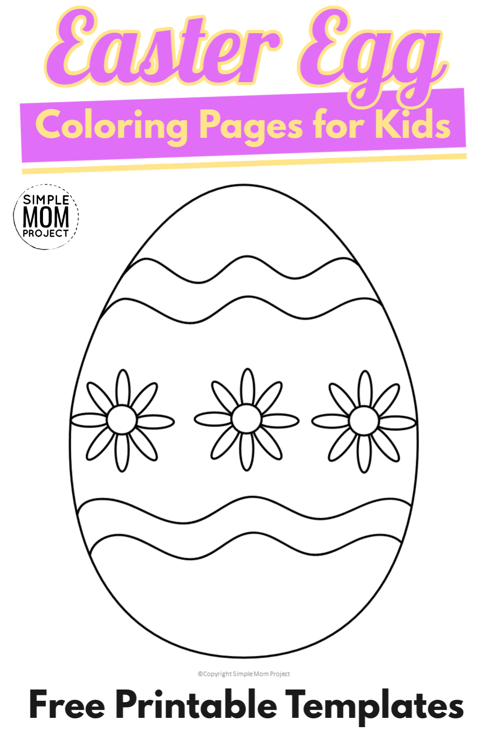 14++ Printable easter egg hunt coloring page ideas in 2021
